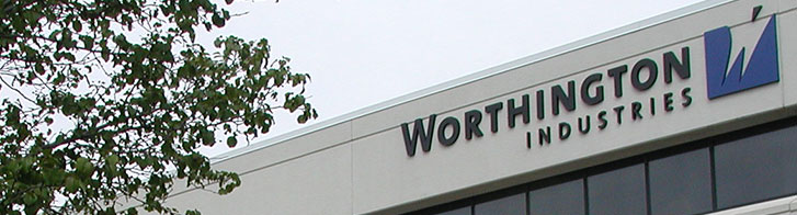 Photo of the Worthington Industries building